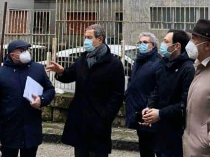 Enna, ex ospedale pronto a diventare Centro direzionale della Regione: oggi sopralluogo di Musumeci