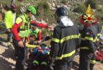 Mountain biking sul Monte Cuccio, giovane cade e si ferisce: elisoccorso e vigili del fuoco sul posto