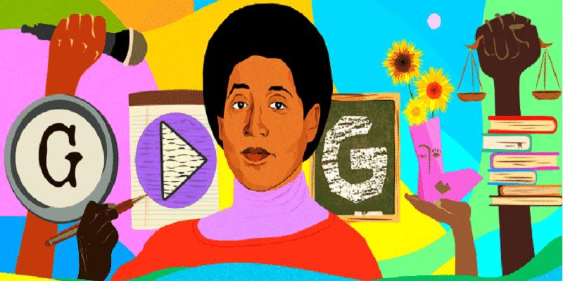 """Audre Lorde protagonista del Doodle di Google di oggi: ecco chi era la """"poetessa nera, lesbica, madre e guerriera"""""""
