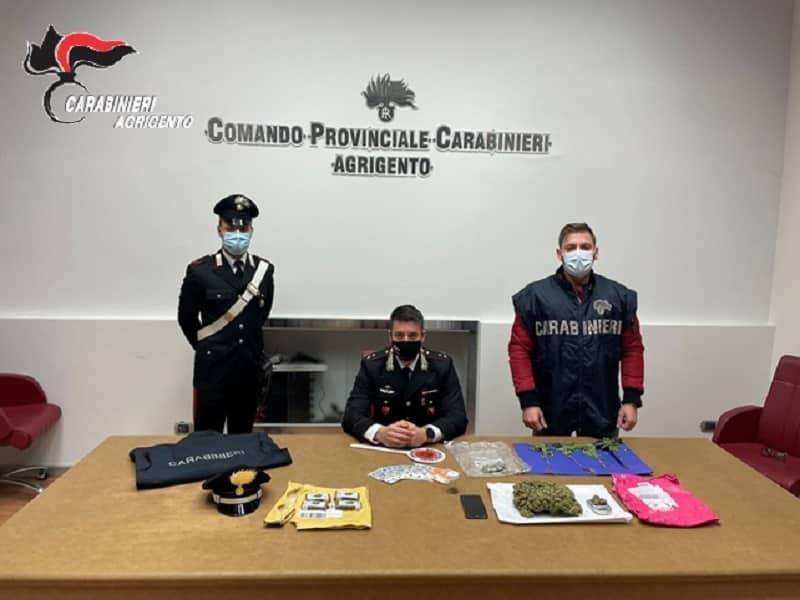 Droga spedita con corriere espresso dalla Spagna, arrestate tre persone: sequestrati pacchi di hashish e marijuana