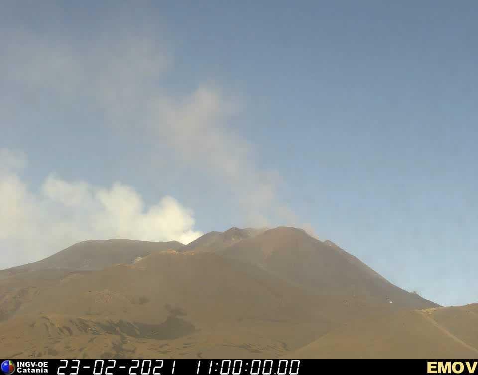 """L'Etna si prende una """"pausa"""", conclusa attività eruttiva al cratere di sud-est: la comunicazione dell'INGV"""