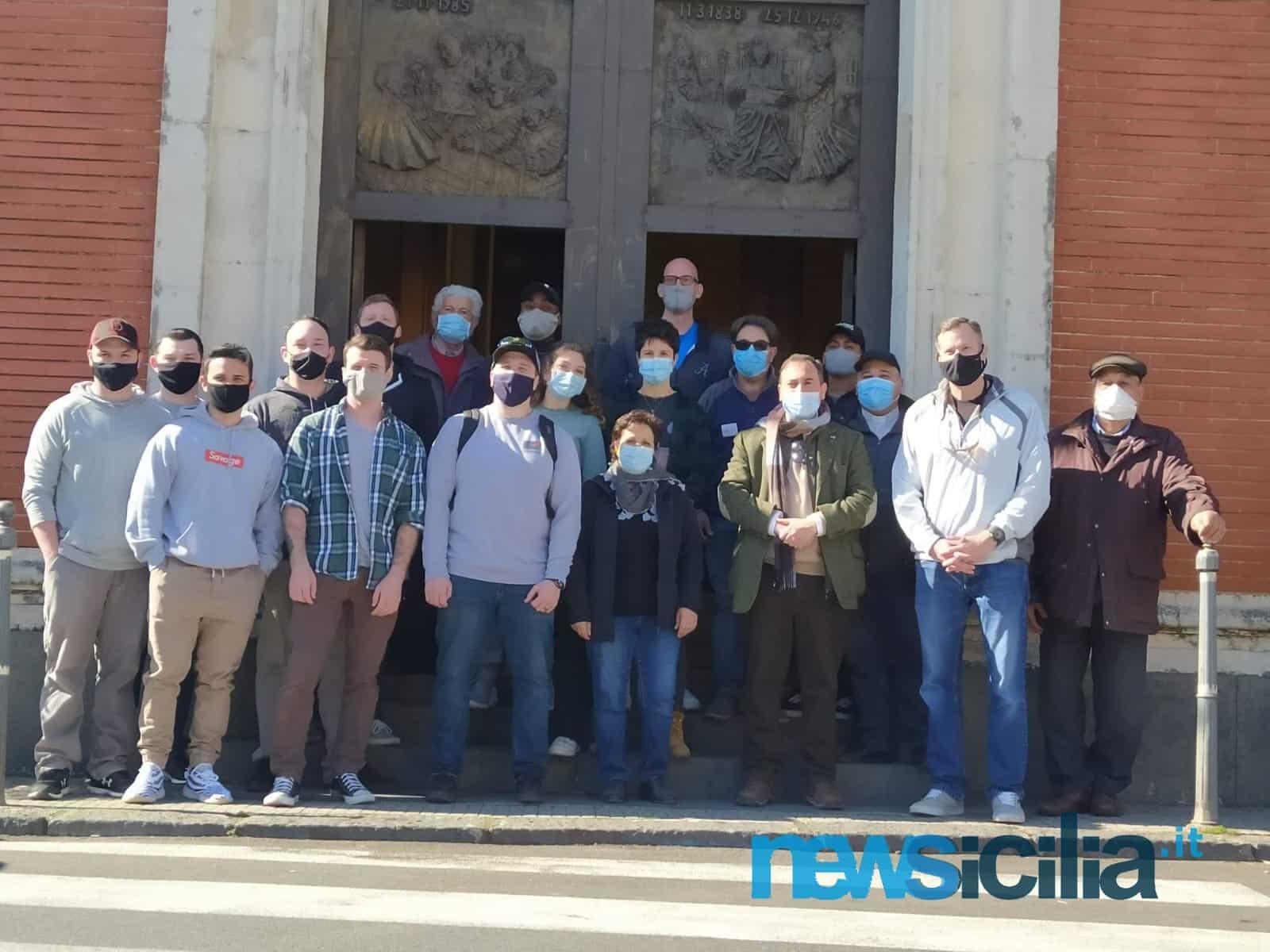 """Progetto """"Community Relations"""", i militari americani di Sigonella a Lavina: una giornata all'insegna della solidarietà"""