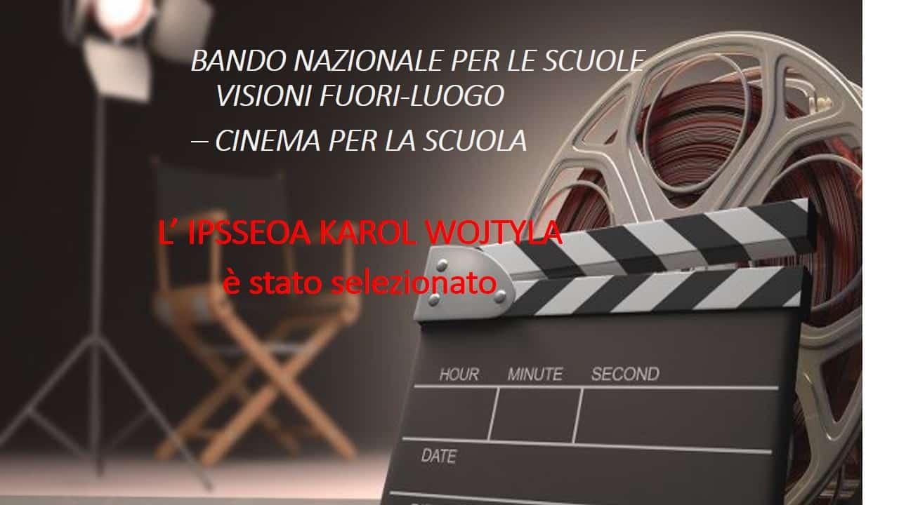 """Ciack si gira… all'Istituto """"Alberghiero Wojtyla"""" di Catania sono iniziati i casting per un film"""