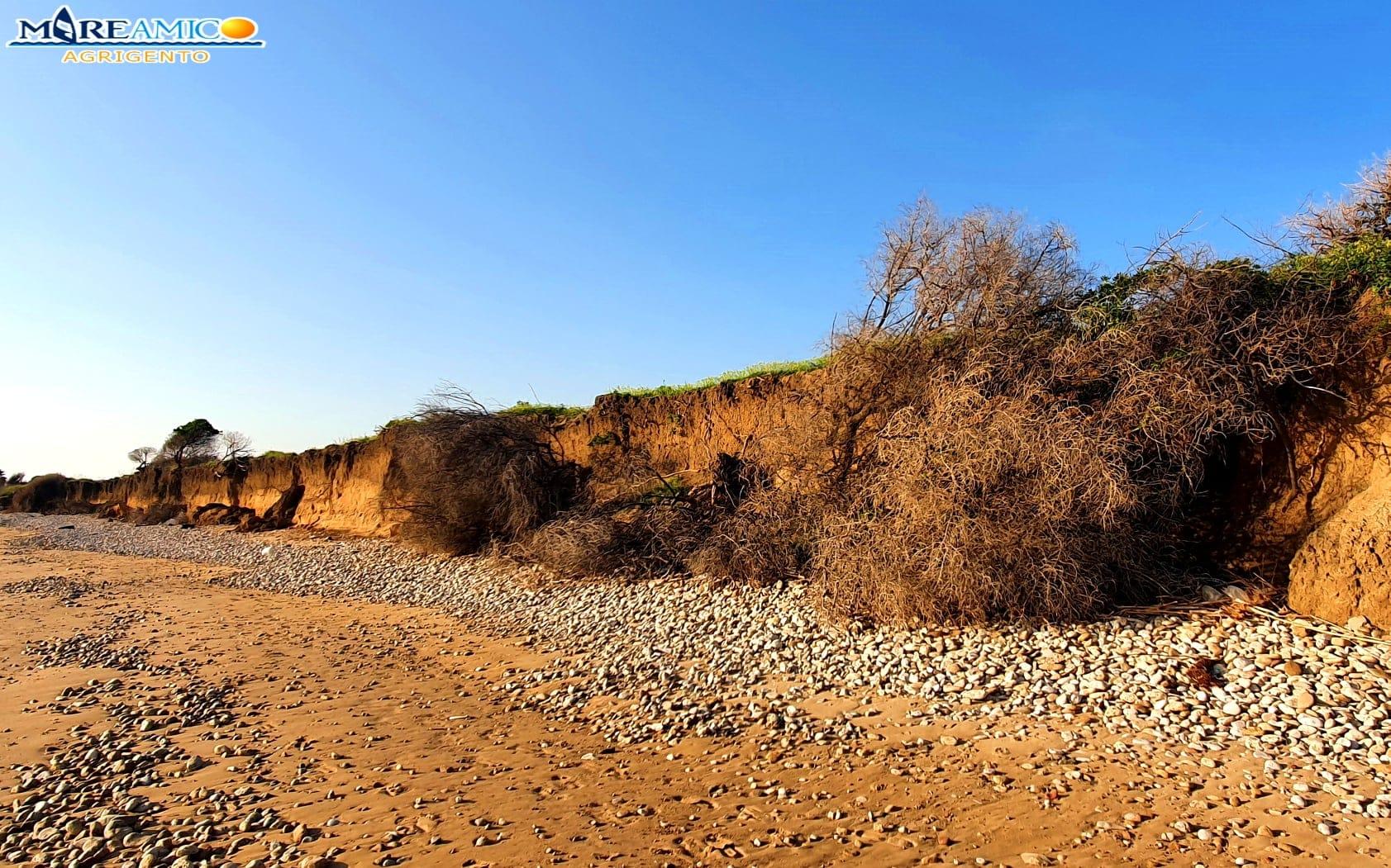 Agrigento, anche la spiaggia della Misita aggredita dall'erosione costiera – Le FOTO