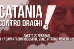 Catania contro il Governo Draghi, presidio davanti Confindustria: partecipa anche Federazione del Sociale USB