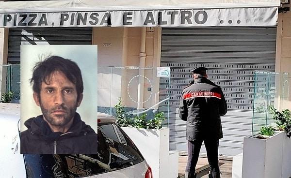 Catania, infrange il coprifuoco per rubare nella pizzeria Bacco di viale Vittorio Veneto: arrestato