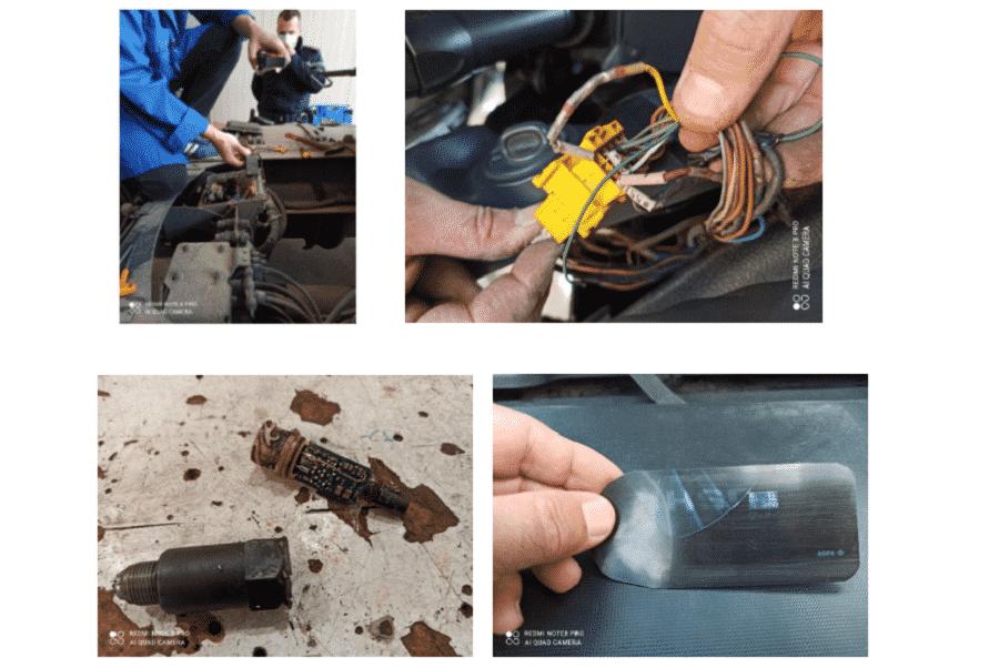 Impianti cronotachigrafici contraffatti e alterati, controlli di sicurezza per le strade siciliane – le FOTO