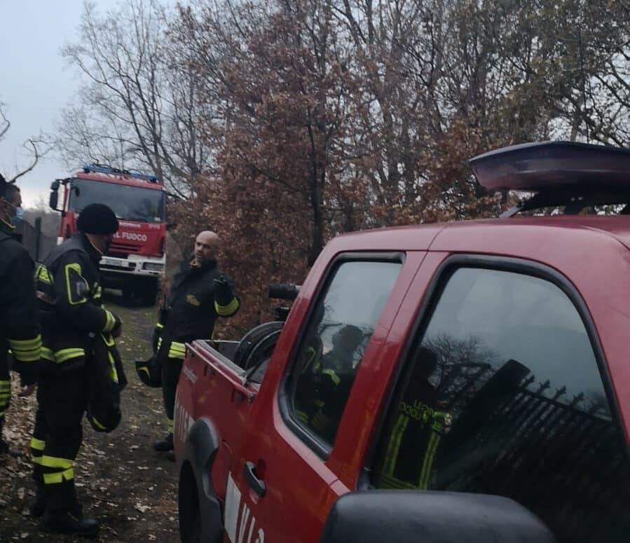 Dramma sull'Etna, donna di Gravina di Catania smarrisce la via: salvata dai vigili del fuoco