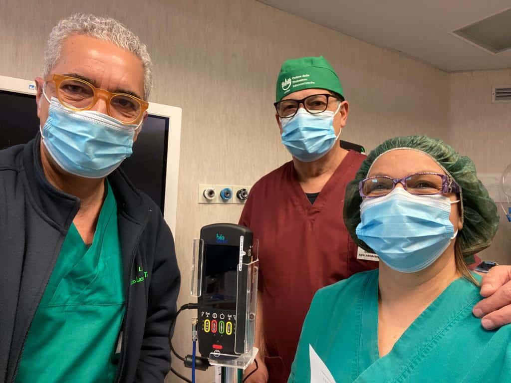 """Chirurgia laser all'ospedale di Militello, Failla: """"Ampliamo servizi per offrire maggiore qualità e più alti livelli di sicurezza"""""""