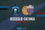 """Bisceglie-Catania 0-0, inizia la gara al """"Ventura"""" – DIRETTA"""