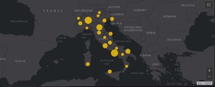 Bollettino Covid Italia, oltre 20mila casi in 24 ore: ecco gli aggiornamenti di oggi, 6 marzo 2021