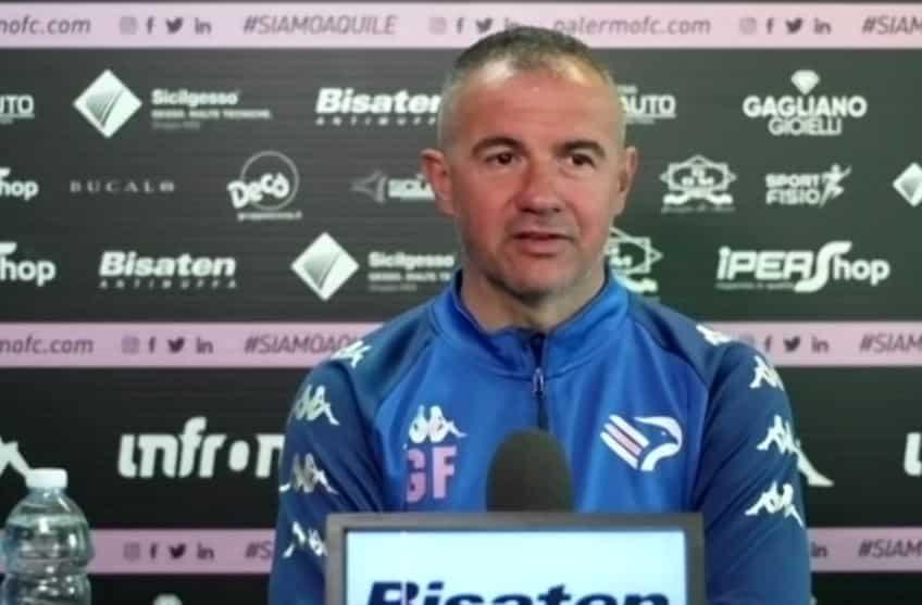 """Calcio, il Palermo cerca continuità. Filippi: """"Obiettivi? Pensiamo partita dopo partita"""""""