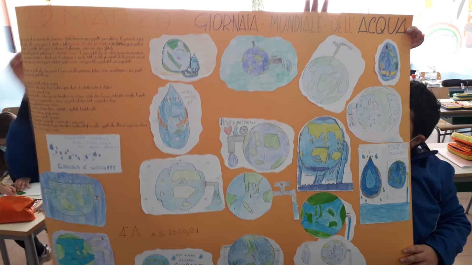 """L'Istituto Comprensivo """"Giuseppe Fava"""" di Mascalucia celebra il """"World Water Day"""" – Le FOTO"""