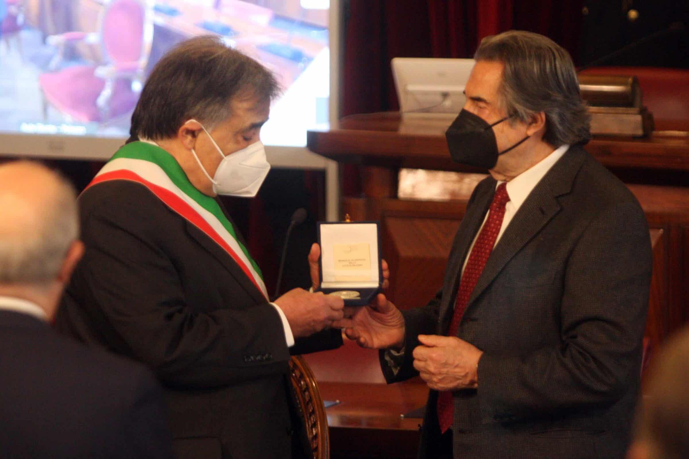 """Palermo, Riccardo Muti diventa cittadino onorario: """"Cultura e musica sono importanti"""""""