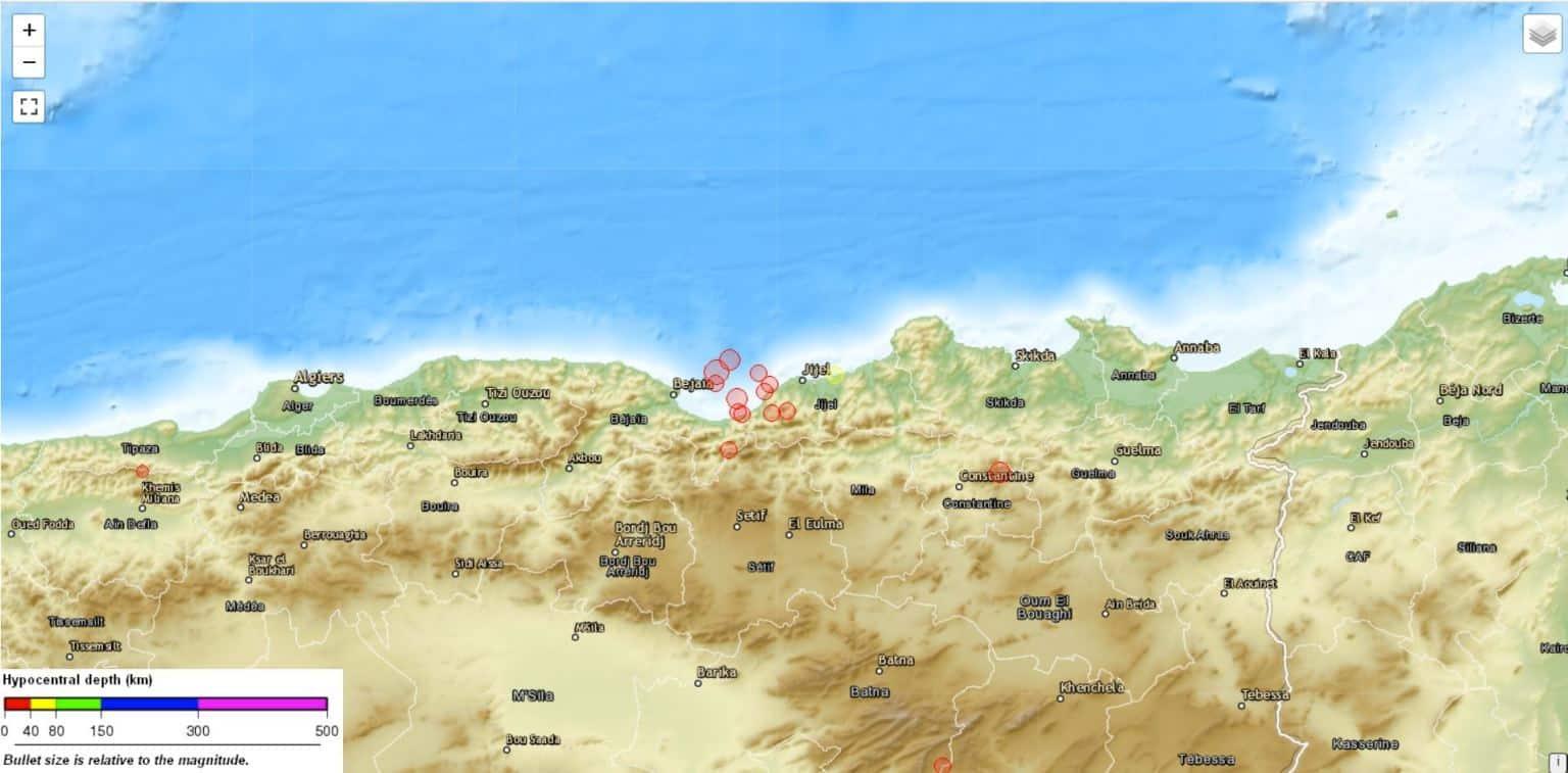 Terremoto in Algeria, diramata allerta tsunami arancione: sisma avvertito anche in Sicilia