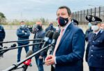 """Processo Gregoretti, """"Ci rivedremo il 14 aprile"""": le dichiarazioni di Matteo Salvini a Catania – VIDEO"""