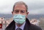 """Emergenza Etna, Musumeci visita i luoghi colpiti dalla caduta di cenere e lapilli: """"Una vera e propria calamità"""" – VIDEO"""
