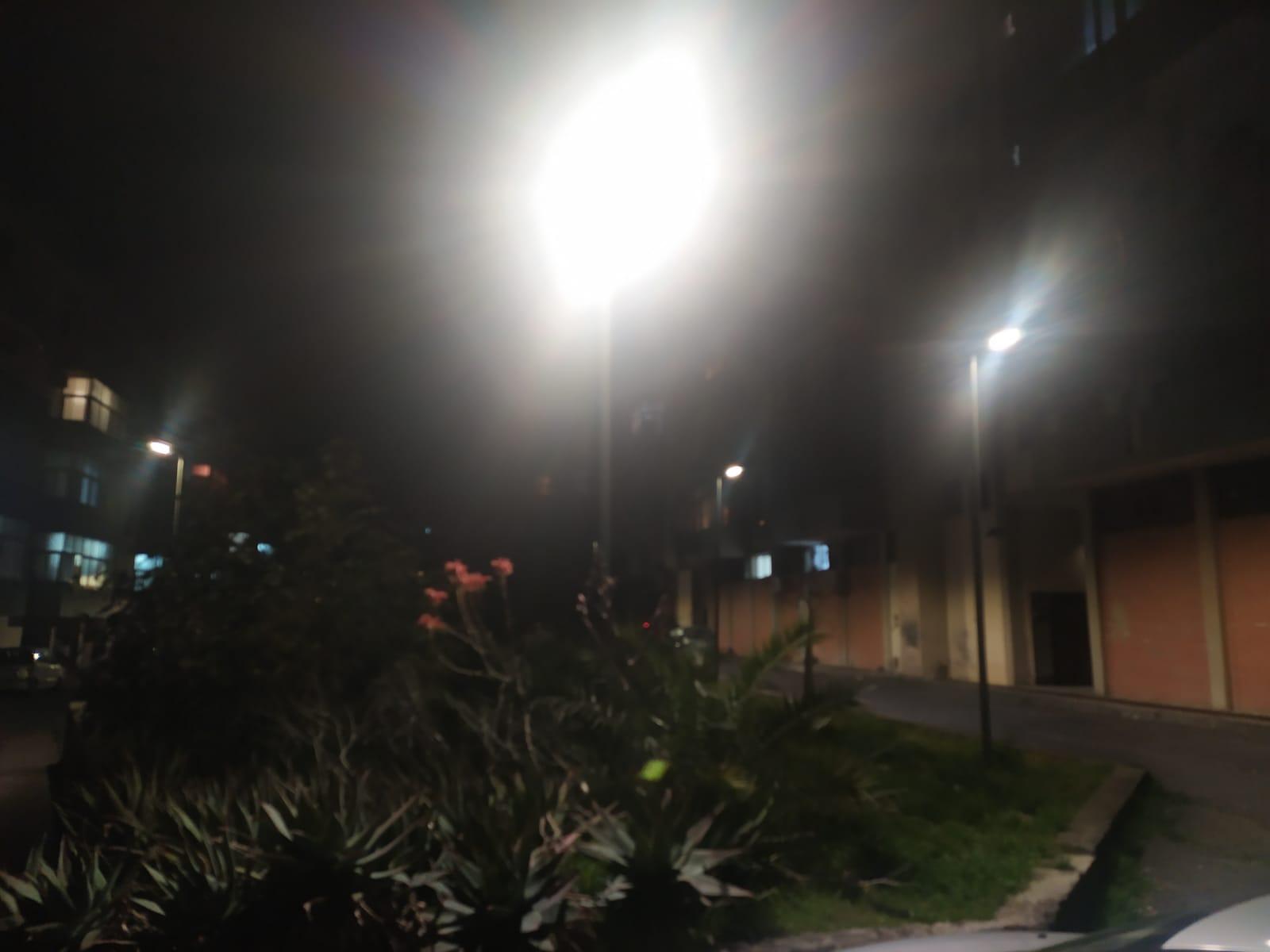 """Catania, finalmente la """"luce"""" per alcune vie di San Giovanni Galermo. Buceti: """"Obiettivo raggiunto"""""""