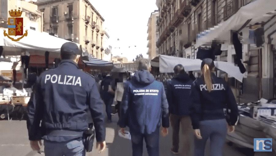 Catania, scoperte le mani della mafia dietro le bancarelle della Fiera: sequestrate attività – VIDEO e DETTAGLI