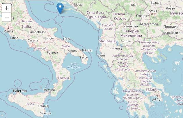 Forte terremoto nell'Adriatico, due scosse di magnitudo 5.6 e 4.1: avvertite in più regioni d'Italia