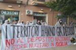 """""""No alle scorie nucleari in Sicilia"""", sit-in di protesta alla Prefettura di Palermo – FOTO"""