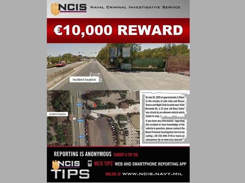 Catania, incidente mortale al viale Kennedy: si cerca il pirata della strada, ricompensa di 10mila euro