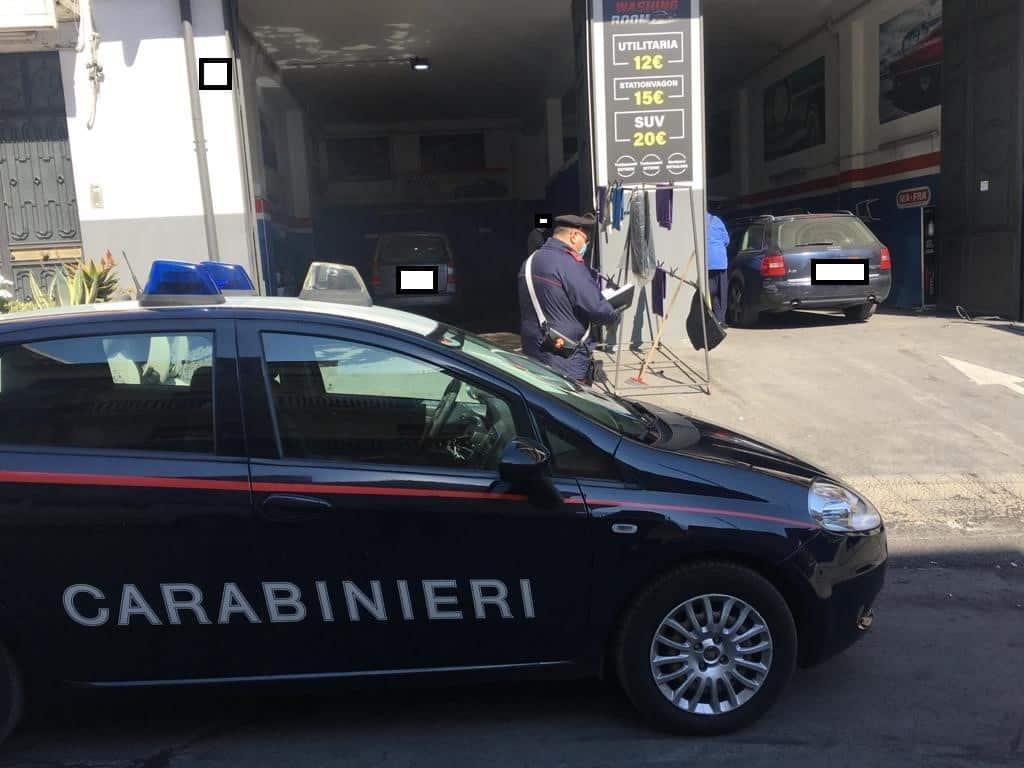 Misterbianco, trovati 2 lavoratori in nero in noto autolavaggio: sanzioni oltre 9mila euro
