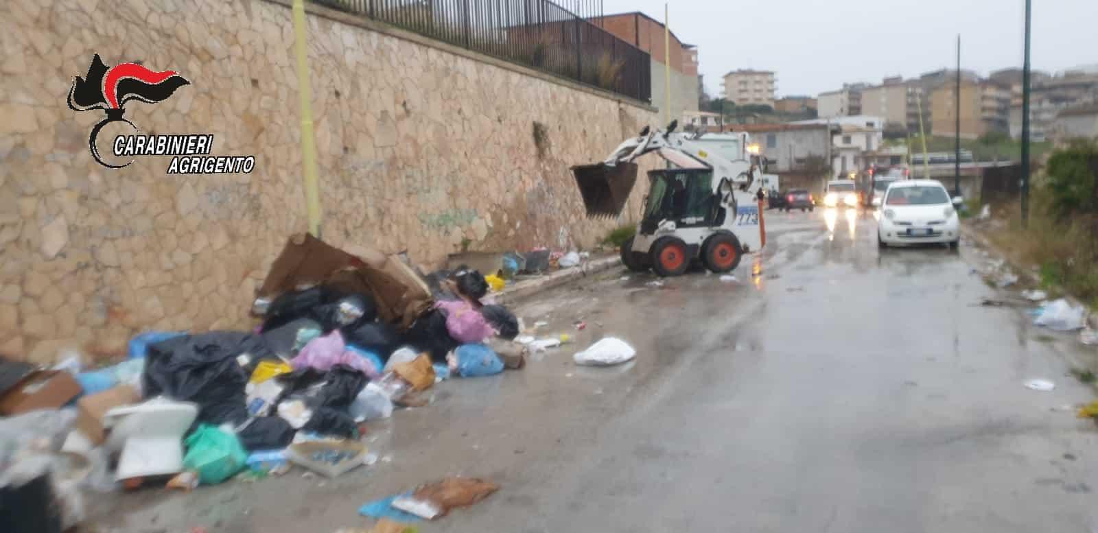 Bonifica del sito di Favara ovest, smaltimento di rifiuti in via Giacomo Puccini