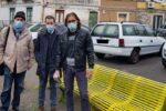 Giornata internazionale dei diritti della donna, a Catania panchine gialle nel IV municipio