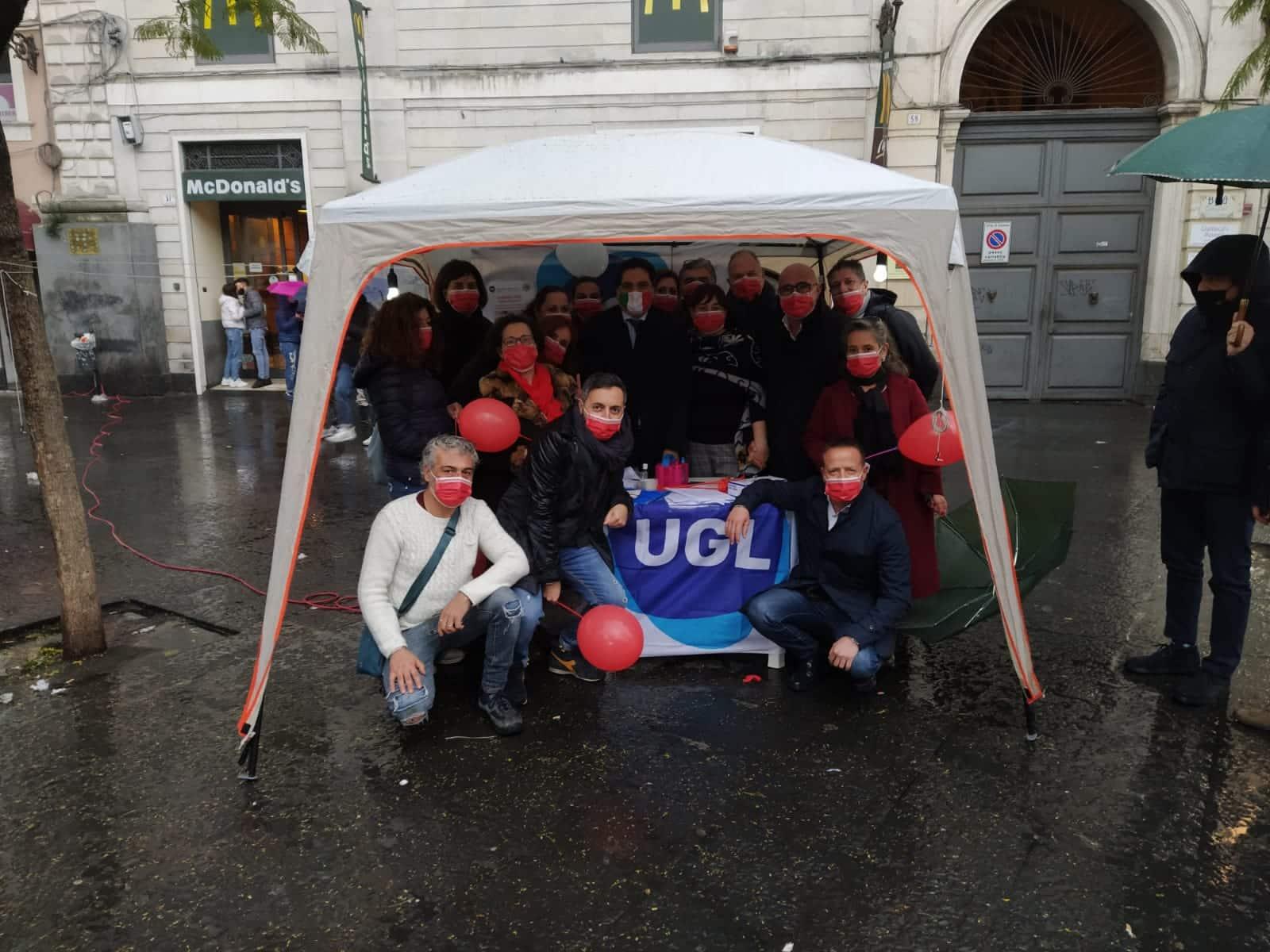 """Giornata internazionale delle donne, manifestazione Ugl a Catania per rivendicare il ruolo della donna nel lavoro e nella società: """"Impegno per equilibrio tra sessi e azioni di welfare"""""""