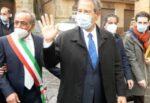 Enna, Nello Musumeci in visita ad Aidone e Piazza Armerina