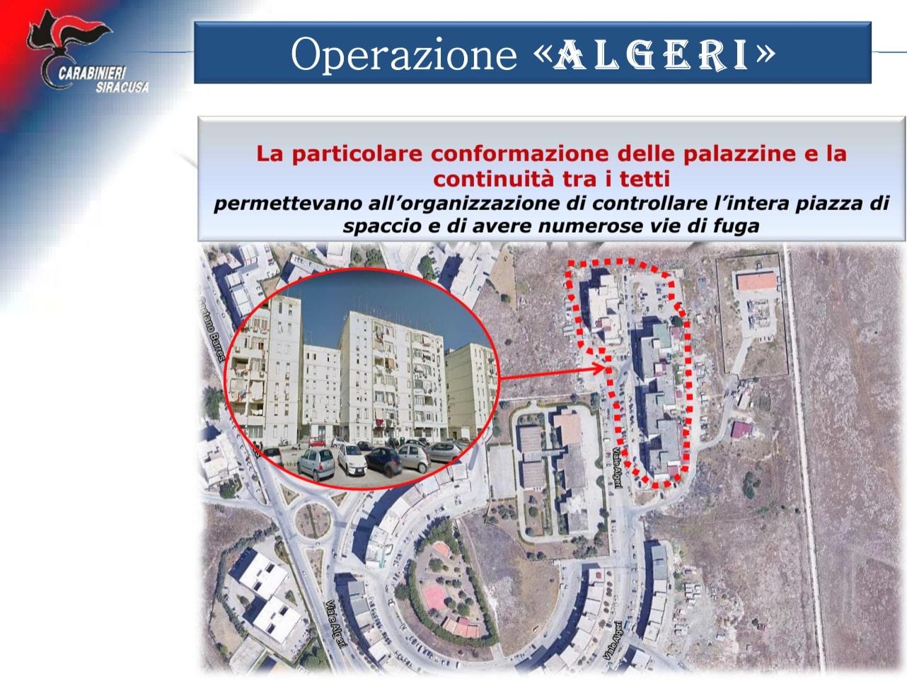 Operazione Algeri, duro colpo alle piazze di spaccio aretusee: i NOMI degli arrestati