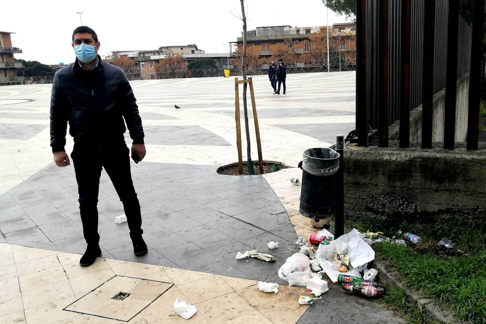 Catania, serve rivalutare Piazza Vicerè: la segnalazione del consigliere Cardello