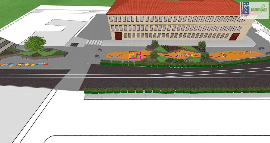 """Prima """"Zona Scolastica"""" a Catania, un'area verde a misura di bambino vicino al Borgo: ecco i dettagli del progetto"""