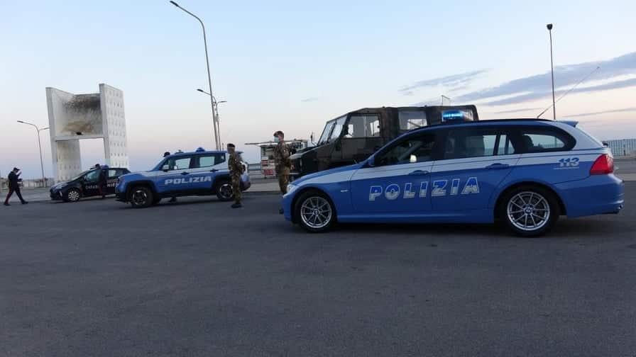 Controlli anti-Covid, 37 equipaggi delle forze dell'ordine scendono in campo nel weekend