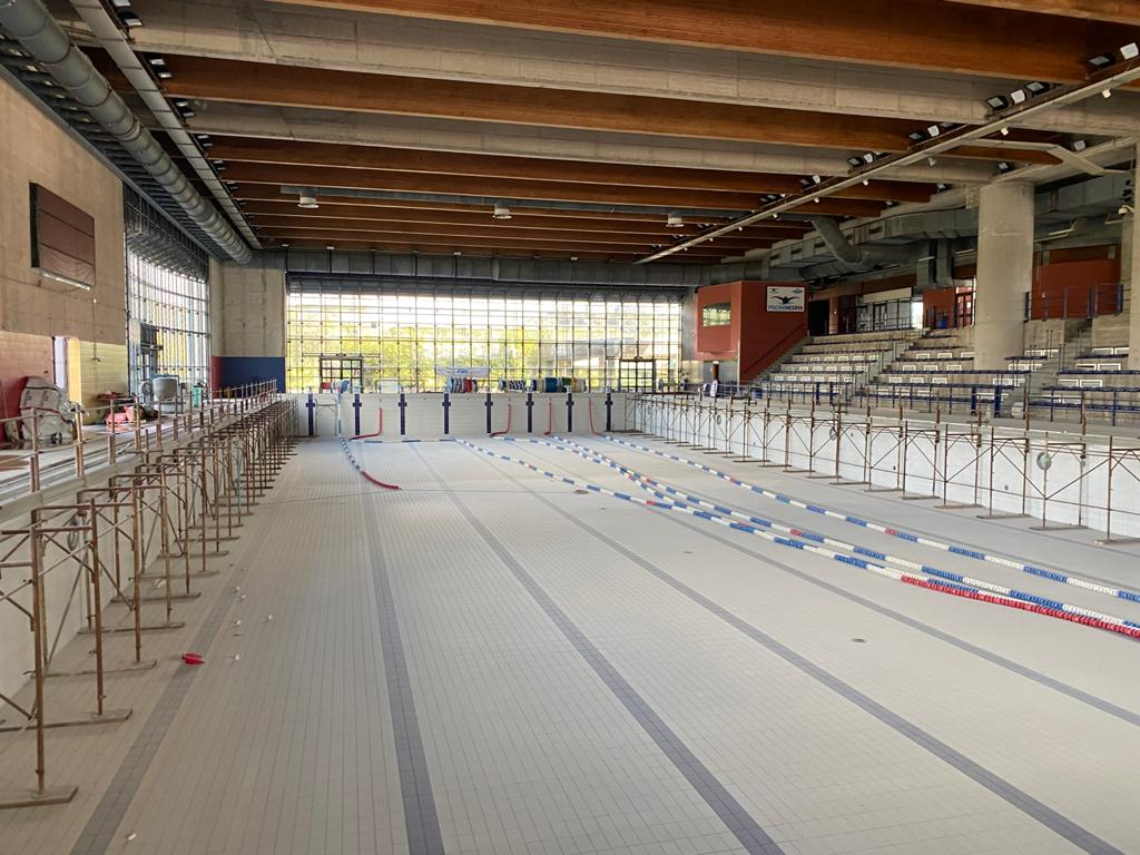 Manutenzione negli impianti sportivi catanesi, lavori al Benito Paolone e alla piscina di Nesima – FOTO