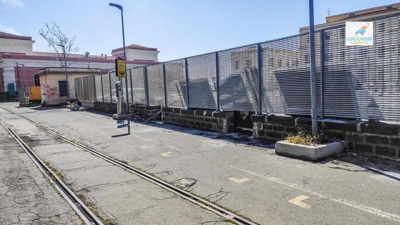 Catania a un passo dalla zona rossa, barriere all'ingresso pedonale del porto: entrata vietata nei weekend