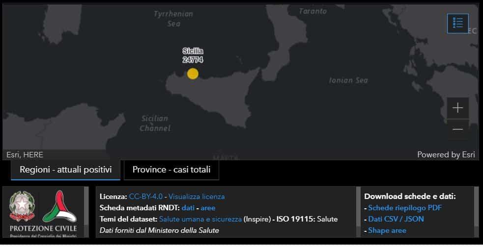 Bollettino Covid Sicilia,1.450 nuovi casi oggi: i DATI del 15 aprile 2021 per provincia