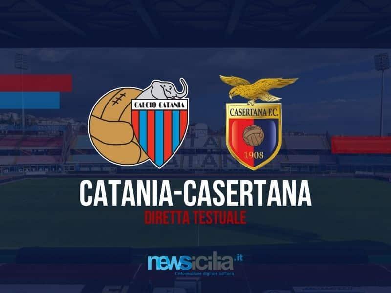 Catania smagliante al Massimino, con la Casertana arriva un facile 3-0 – RIVIVI LA DIRETTA