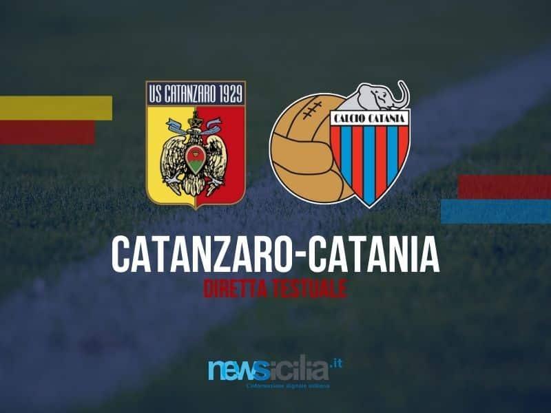 Il Catania crolla nel finale, rossazzurri sconfitti a Catanzaro per 2-0 – RIVIVI LA DIRETTA