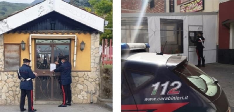 Controlli nei bar a Catania e provincia, 3 chiusure: dal caffè e cocaina all'inosservanza delle restrizioni