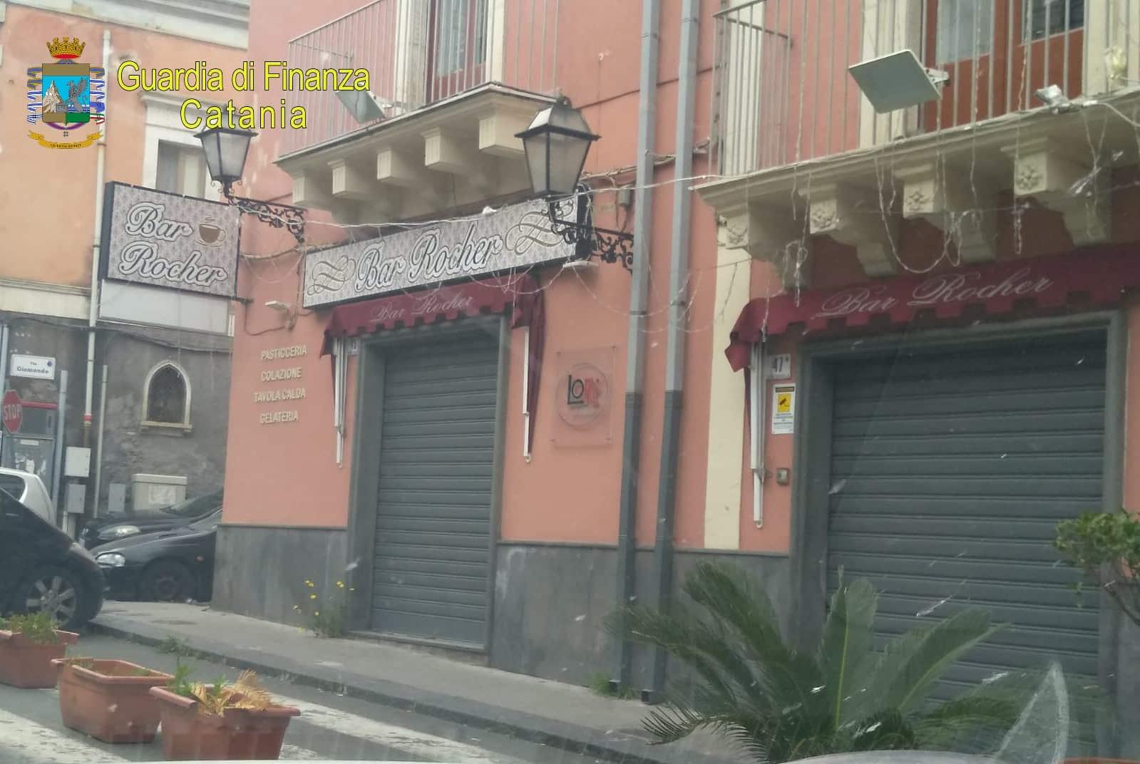 Catania, confiscato il Bar Rocher: nel mirino i beni di Giuseppe Vasta per oltre 200mila euro