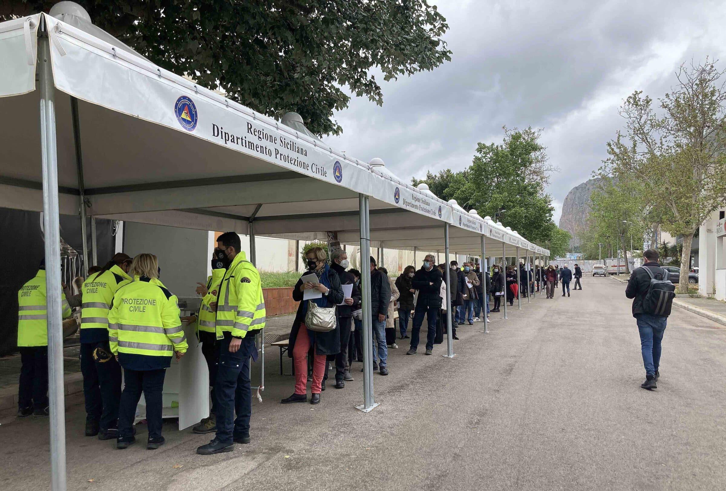 Covid Palermo, successo alla Fiera del Mediterraneo per l'Open weekend AstraZeneca: i dati complessivi