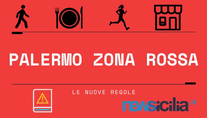 Palermo zona rossa, restrizioni come in lockdown: ecco cosa si può fare e cosa no