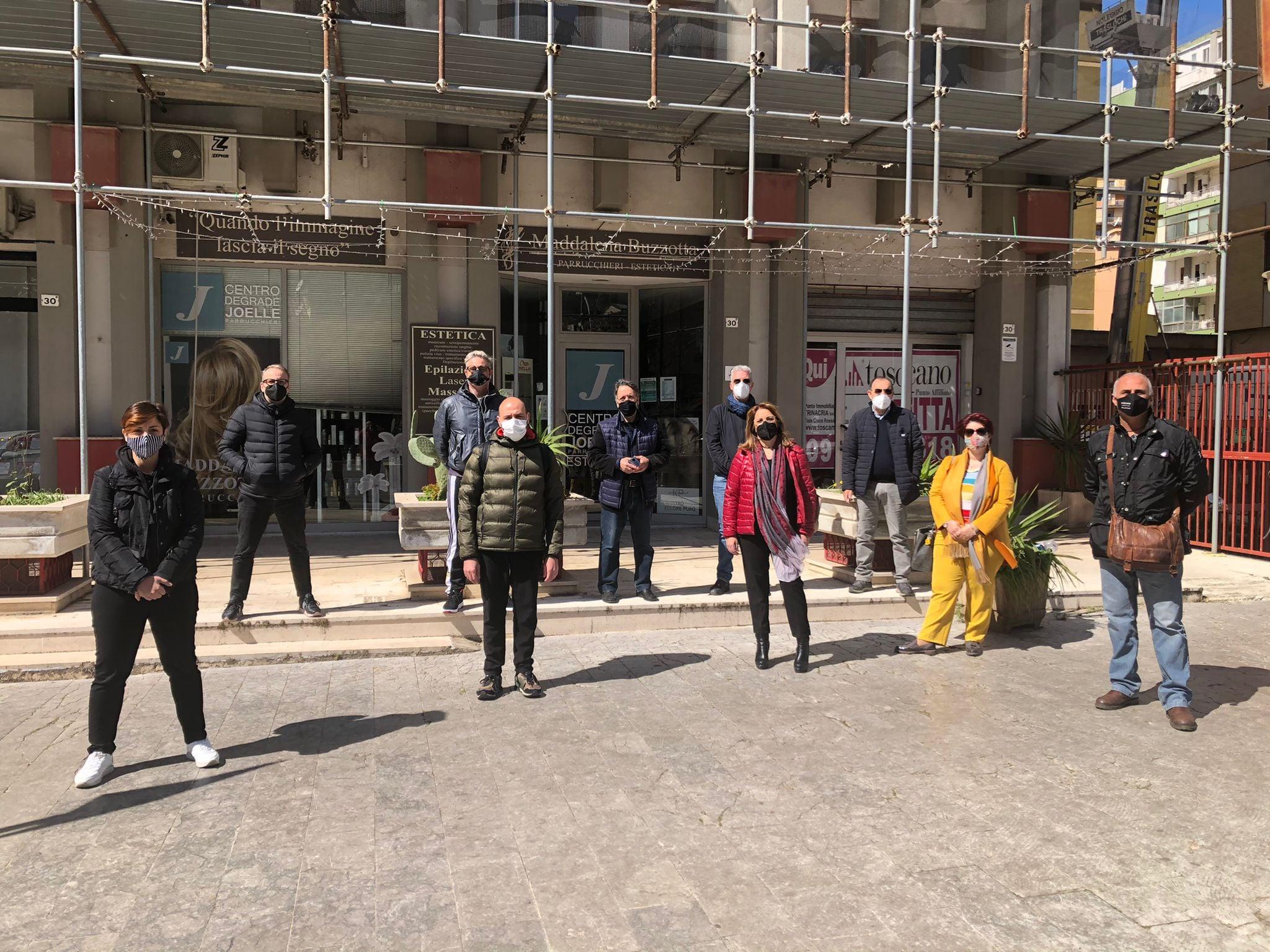 """Palermo in zona rossa, la protesta silenziosa del settore Benessere: """"La nostra voce non può continuare a rimanere inascoltata"""""""