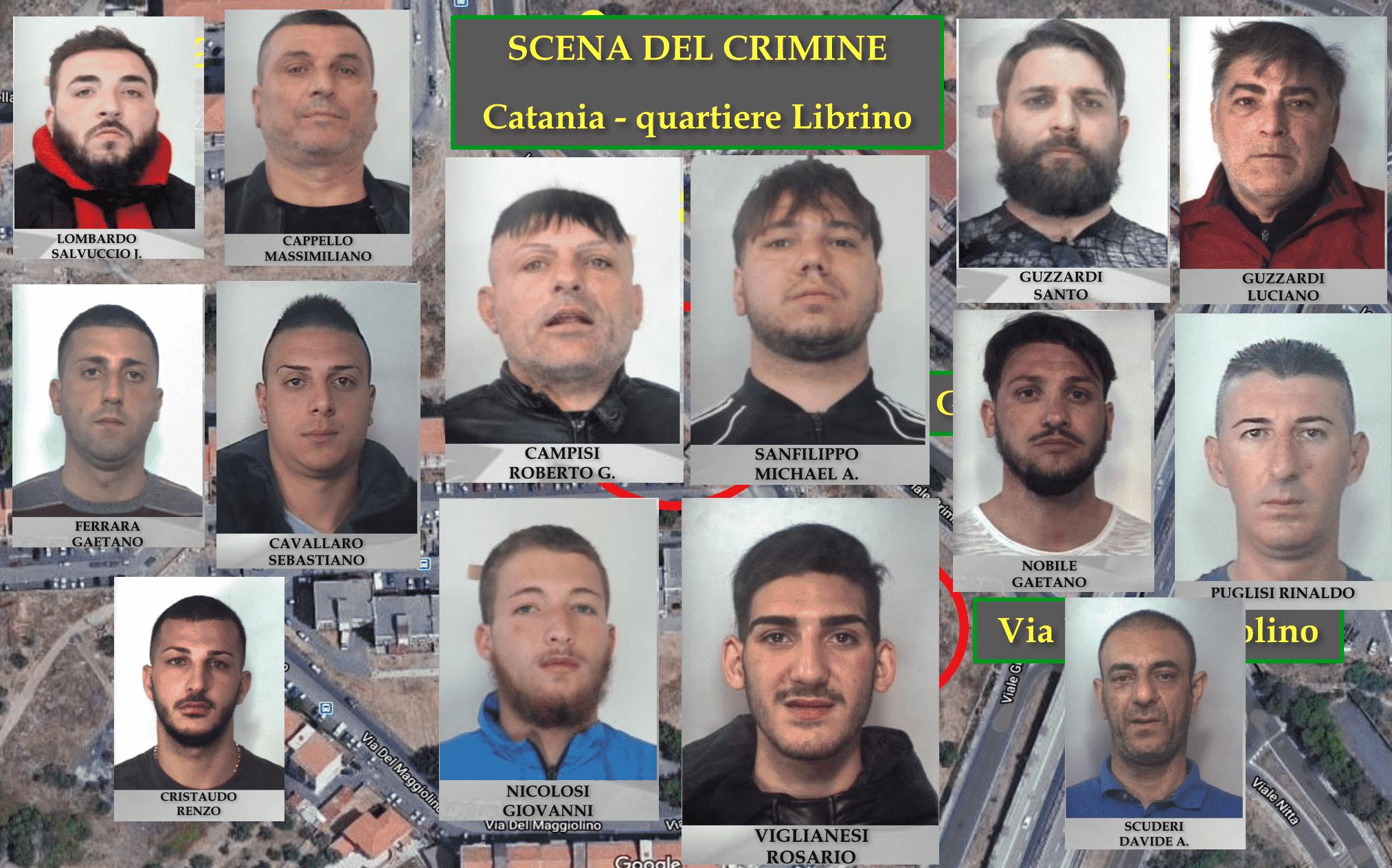 Catania, la sparatoria con due morti: chi sono gli arrestati dei Cappello e Cursoti Milanesi – NOMI e FOTO