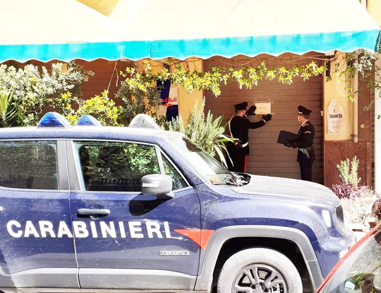Covid Catania, chiuso noto bar in viale Margherita: sanzionati anche 7 avventori che consumavano sul posto