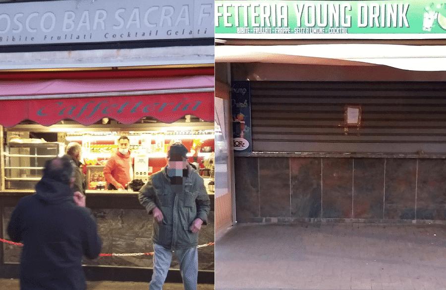 Catania, chiusi pub in via Coppola e chioschi in viale Mario Rapisardi: multe a clienti, colpiti anche ambulanti