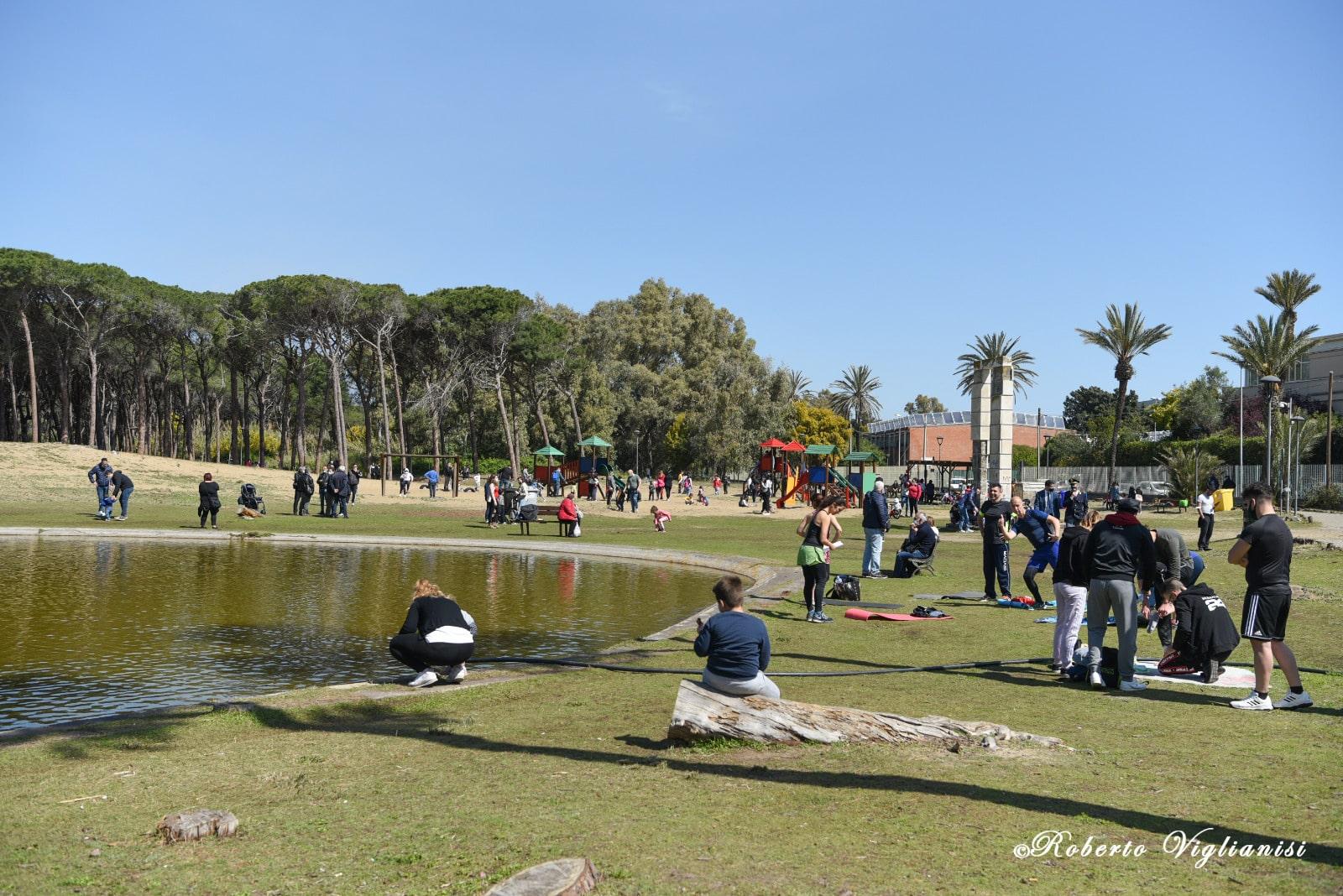 Catania, il boschetto della Plaia rinasce come spazio naturalistico: piantati altri 200 alberi – FOTO