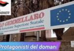 """Istituto """"Carlo Gemmellaro"""" di Catania: Carabinieri a scuola per promuovere la legalità"""